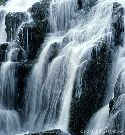 Free Waterfall. Stock Image - 295651