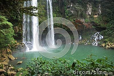 Waterfall Agua Azul Mexico