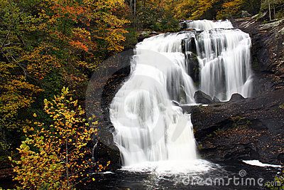 Waterfall - Bald River Falls, Tennessee