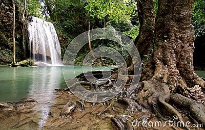 Waterfall blue