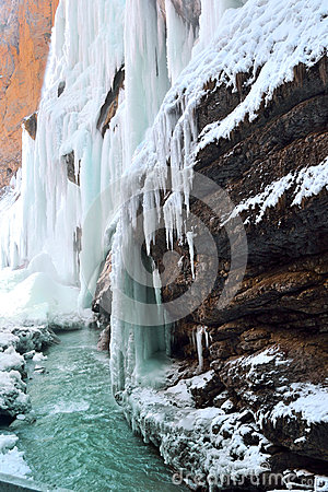 Waterfall cold