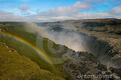 Waterfall Dettifos, Iceland