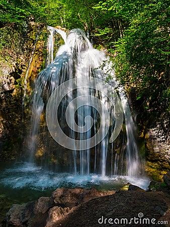 Waterfall Dzhur-dzhur