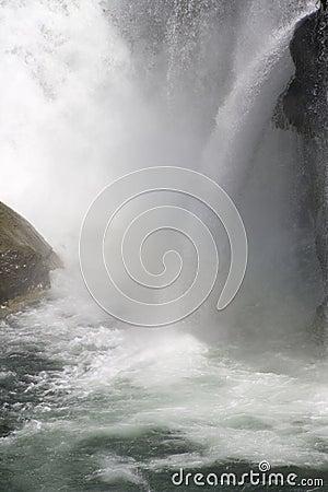 Waterfall fall waterfalls water white