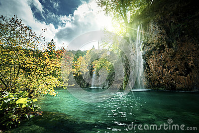Lake and Waterfall Holiday