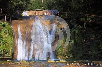 Waterfall fresh cascade
