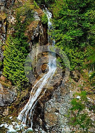 Waterfall, Gorge Creek, North Cascades, Washington