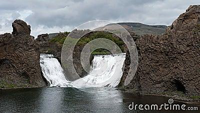 Waterfall Hjalparfoss