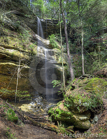 Waterfall  in Hocking HIlls Ohio
