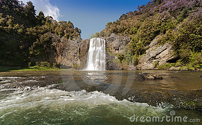 Waterfall at Hunua
