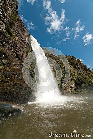 Waterfall at Hunua
