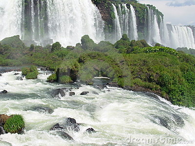 Waterfall of Iguacu