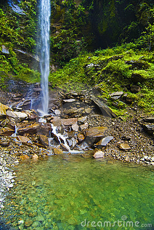Free Waterfall In Countryside Stock Photos - 6550823