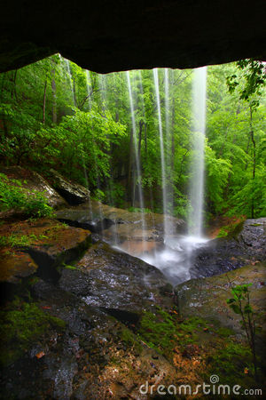 Free Waterfall In Northern Alabama Stock Photography - 16736092