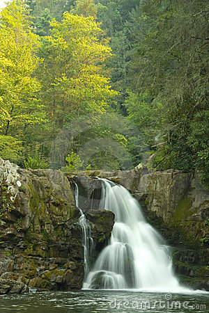 Free Waterfall In Smoky Mountains Royalty Free Stock Image - 3021016