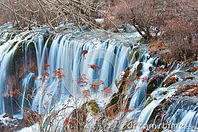 Waterfall in Jiuzhai Valley 2