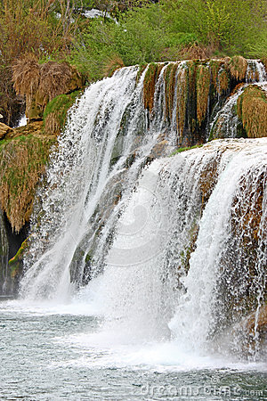 Waterfall on Krka river