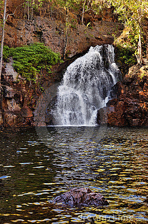 Waterfall in Litchfield, Australia