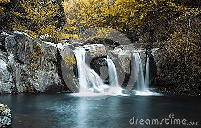 Waterfall in Lushan China