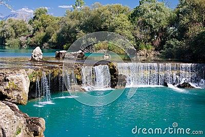 Waterfall Manavgat in Turkey