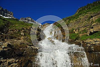 Waterfall, Montana