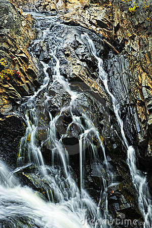 Waterfall in Northern Ontario, Canada