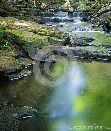 Waterfall and Peaceful Pool