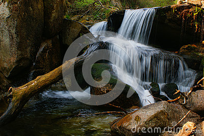 Waterfall of Queimadela in Fafe