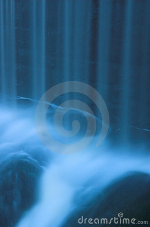 Free Waterfall Rapids With Water Curtain 3 Royalty Free Stock Images - 1505769