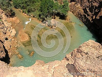 Waterfall s pool, Arizona