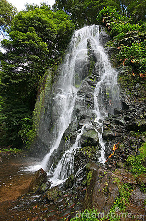 Waterfall in Sao Miguel Island - Azores