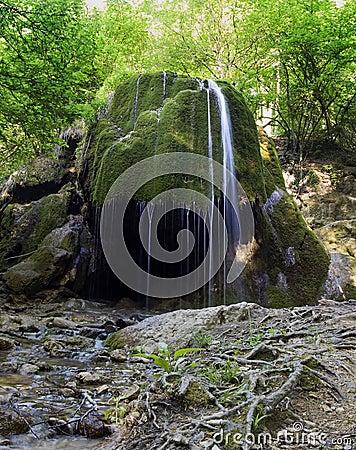 Free Waterfall Silver Stream Stock Photos - 15978833