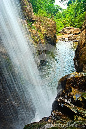 Waterfall South in thailand