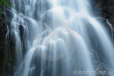 Waterfall in south of Thailand