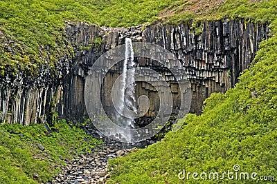 Waterfall Svartifoss