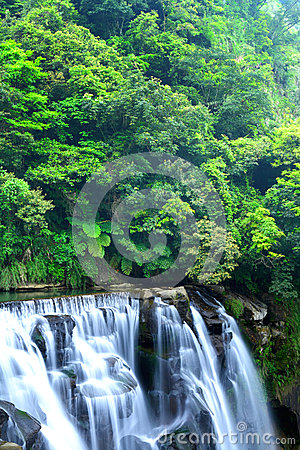 Waterfall in taiwan