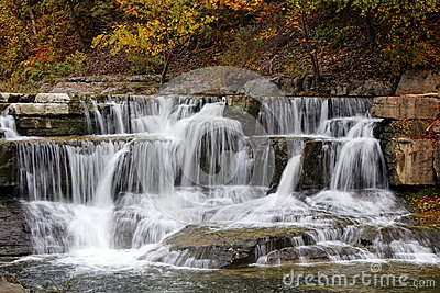 Waterfall in Taughannock State Park