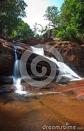 Waterfall in the tropics