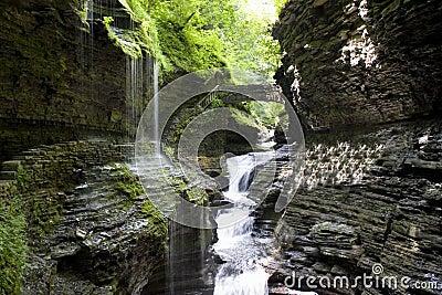Waterfall at Watkins Glen