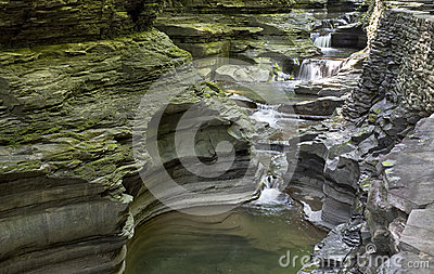 Waterfall, Watkins Glen State Park, New York, No.
