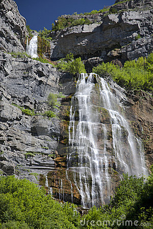 A Waterfall in the Western United States