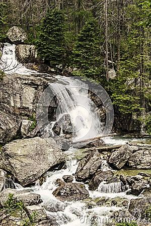 Waterfalls in High Tatras