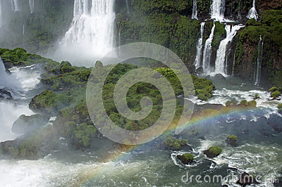 Waterfalls in Iguazu