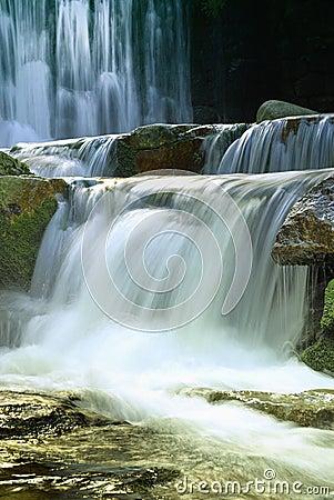 Free Waterfalls In Karpacz Royalty Free Stock Image - 3341526