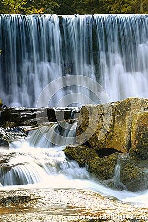 Free Waterfalls In Karpacz Stock Photo - 3362280