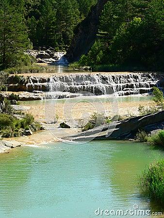 Waterfalls, Las Peñas de Riglos ( Spain )