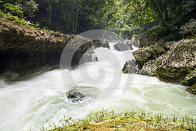 Waterfalls of Semuc-champey