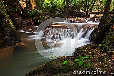 Waterfalls in Trang.