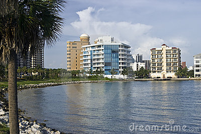 Waterfront Condos on Sarasota Bay