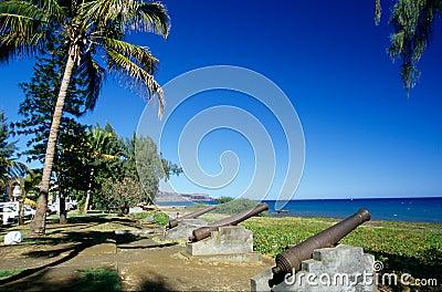 Waterfront at Saint Paul, Reunion Island